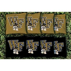 Buy Wake Forest Demon Deacons Replacement Cornhole Bag Set (corn-filled) by Gameday Cornhole