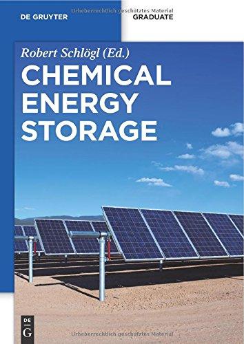 Chemical Energy Storage (De Gruyter Textbook) (De Gruyter Graduate) PDF