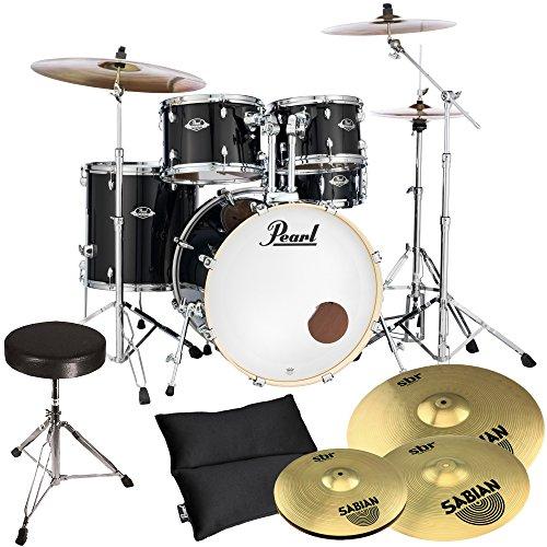 pearl-export-exx725sz-c31-black-sabian-becken-set-hocker-gratis