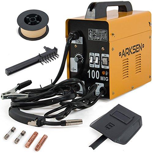 ARKSEN-MIG-100-Gas-Less-Flux-Core-Welder-90AMP-Combo-Set