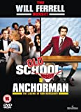 Old School - Unseen / Anchorman: The Legend of Ron Burgundy Double Pack [DVD]