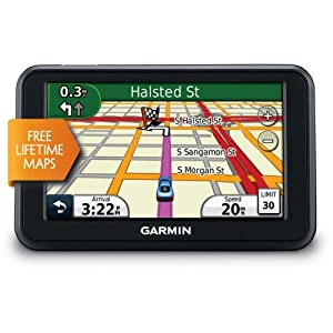 Garmin nvi 40LM 4.3-inch Portable GPS Navigator (US)