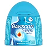 Gaviscon Cool Mint Chewable Tablets, Handy Pack of 16