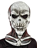 Forum Novelties Men's Skull Mask with Cowl by Forum Novelties Costumes