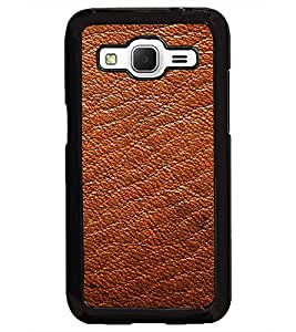PrintDhaba Leather D-2071 Back Case Cover for SAMSUNG GALAXY CORE PRIME (Multi-Coloured)
