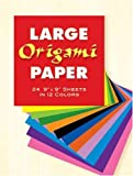 Large-Origami-Paper--24-9-X-9-Sheets-in-12-Colors