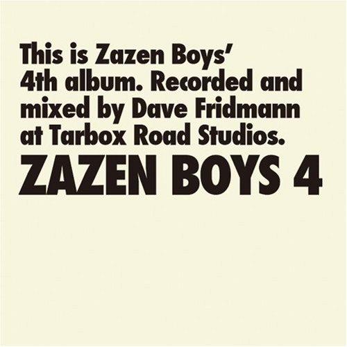 ZAZEN BOYS4