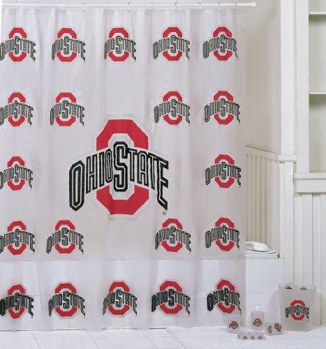 Ohio state bathroom set