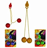 Plastic Click Click Balls - Just like the Classic 1970 Clackers - Childs/Children Perfect Ideal Christmas Stocking Filler Gift Present