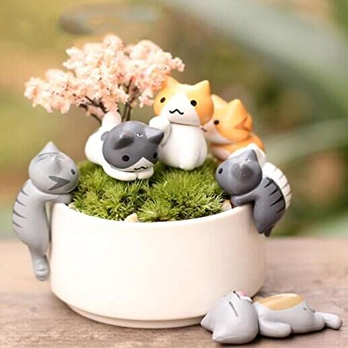 fozela-6pcs-miniatur-diy-mikro-landschaft-decoration-cartoon-katze-miniatur-garten-fairy-door-garden