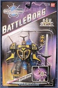 """1997 Saban's BeetleBorgs Metallix BattleBorg """"ROBOBORG"""" (Very rare!)"""