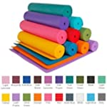 """YogaAccessories 1/4"""" Extra Thick Delu..."""