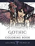 Gothic - Dark Fantasy Coloring Book (Fantasy Art Coloring by Selina) (Volume 6)
