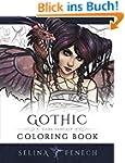 Gothic - Dark Fantasy Coloring Book (...