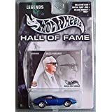 Hot Wheels Hall Of Fame Legends Enzo Ferrari 365 Gt Blue
