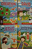 img - for Bible Big Book of Stickers (Assorted, Titles & Quantities Vary), Story of Creation, Story of David, Miracles of Jesus, and / or Story of Joseph book / textbook / text book