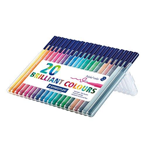 staedtler-323-sb20-triplus-colour-fibre-tip-pen-desktop-box-assorted-colours-pack-of-20