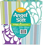 Angel Soft, Lotion, Cube Facial Tissue, 4 Count