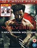 The Wolverine + X-Men Origins:Wolverine 2 Movie Pack Blu-ray