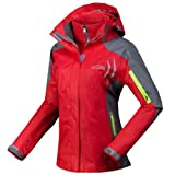 Ladies Outdoor Jacket Climb Hiking Ski Snow Clothing Waterproof Hooded Coat by VVIP