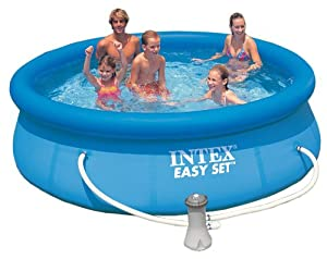 Intex 12-12-28122GS Easy Set Pool 305 x 76 cm, Kartuschenfilter 2.271 l/h, TÜV/GS