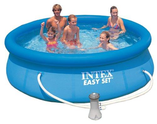 Intex �56922 f�ciles piscina conjunto con bomba y 1 cartucho de filtro