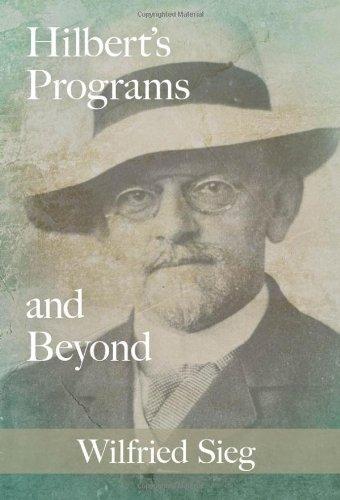 Hilbert's Programs and Beyond