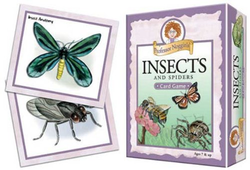 Outset Media Games Prof Noggins Insects & Spiders of North America, Interesting Facts