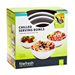 3 Pc. Chilled Serving Bowl Set