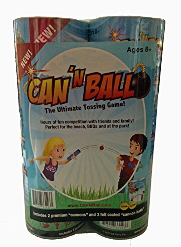 Can 'N Ball Ultimate Tossing Game For Children And Adults (Ages 8 And Up)
