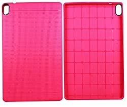 Heartly New Retro Dotted Design Hole Soft TPU Matte Bumper Back Case Cover For HTC Google Nexus 9 Tablet - Cute Pink