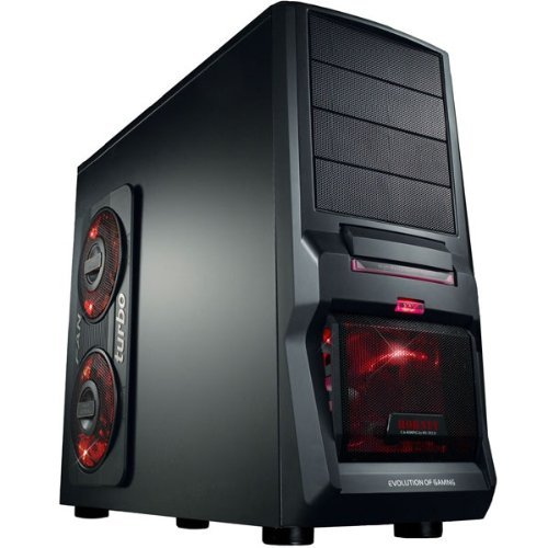 GAMING PC AMD FX4100 Bulldozer Quad Core 4x3,6GHz - Asus Motherboard - 1000GB HDD - 8GB DDR3 (1333 MHz) - DVD Writer - Grafik GeForce GT630 (1024MB DDR3-VGA-DVI-HDMI-DirectX 11) - Audio - 6xUSB 2.0 - LAN - 650W - Cardreader - Wireless LAN (USB/150MBit) - 1xeSATA - 3xLED FAN - Windows7 Home Premium 64Bit (DVD/Lizenzkey) - COMPUTER