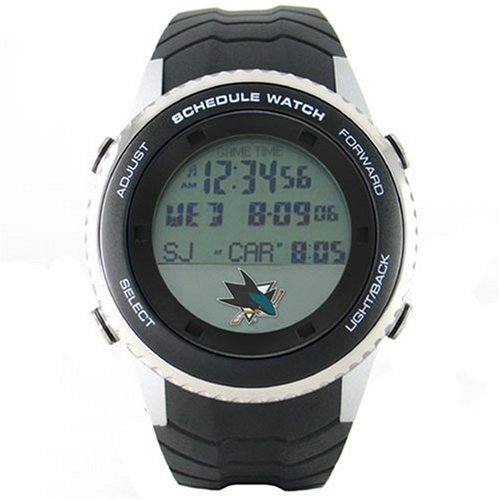 Game Time Men's NHL San Jose Sharks Schedule Watch #NHL-SW-SJ - Buy Game Time Men's NHL San Jose Sharks Schedule Watch #NHL-SW-SJ - Purchase Game Time Men's NHL San Jose Sharks Schedule Watch #NHL-SW-SJ (Game Time, Jewelry, Categories, Watches, Men's Watches, Sport Watches, Rubber Banded)