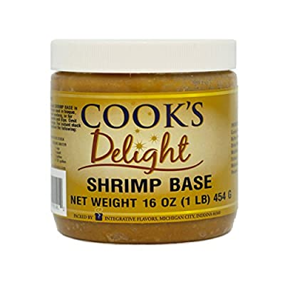Shrimp Soup Base by Cook's Delight 1 Lb of base makes 5 1/2 gal of stock by Integrative Flavors