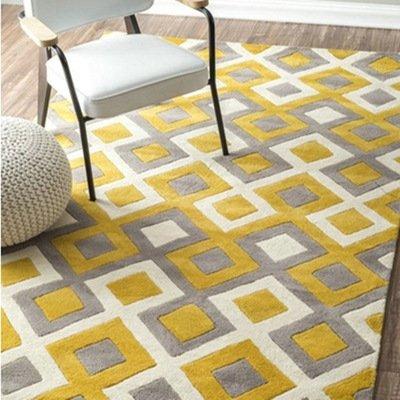 semplice-moda-fatti-a-mano-acrilico-giallo-plaid-camera-da-letto-finestra-a-bovindo-in-salotto-tavol