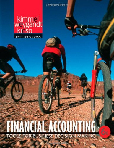 Financial Accounting: Tools for Business Decision Making 6 Edition