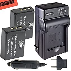 Pack Of 2 NP-85 Batteries And Charger Kit For FujiFilm FinePix S1 SL240 SL260 SL280 SL300 SL305 SL1000 Digital Camera + More!!