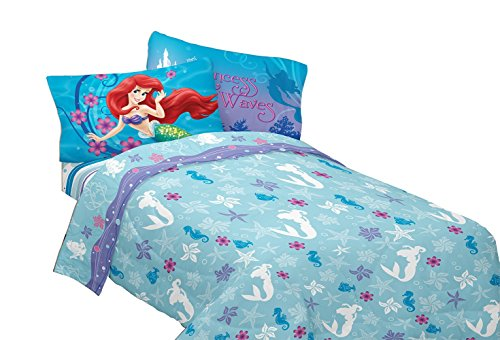 Disney s Little Mermaid Princess Sheet Set. Little Mermaid Bedding   An Enchanting Underwater Kingdom