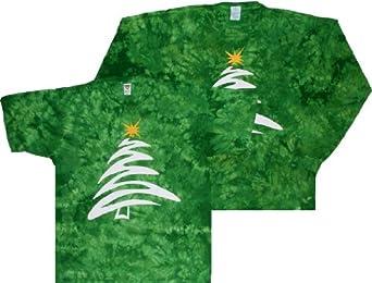 tie dye christmas tree - photo #39