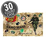 Jelly Belly Camo Jelly Beans | Camouflage Freedom Fighters 1 oz Bags (Case of 30)