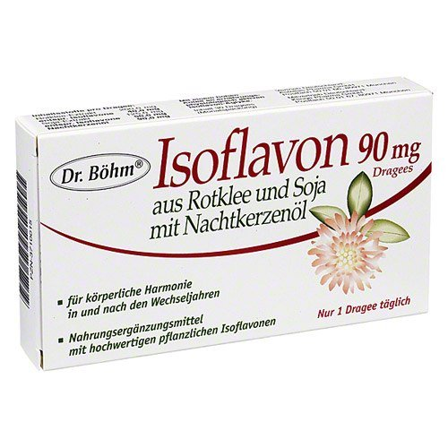 Isoflavon 90 Mg Dr. Boehm Drag. 30 St.