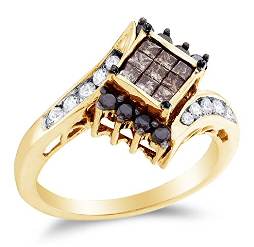 Square Diamond Engagement Rings