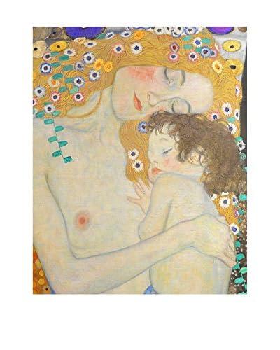 Foto Foto Canvas De drie levensfasen van een Vrouw Dettaglio - Gustav Klimt