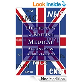 The Dictionary of British Abbreviations and Acronym