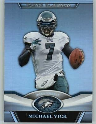 2011 Topps Platinum Foil Football Card #80 Michael Vick - Philadelphia Eagles - NFL Trading Card