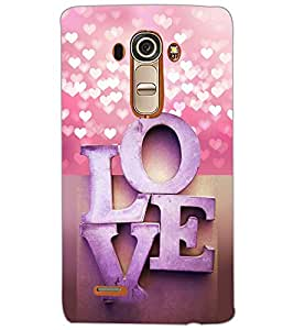 LG G4 LOVE Back Cover by PRINTSWAG