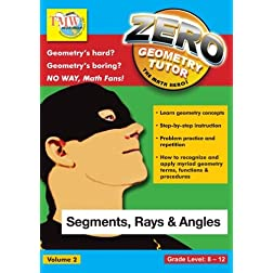 Zero The Math Hero - Segments, Rays & Angles