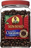 Chocolate Covered Raisins 48 oz