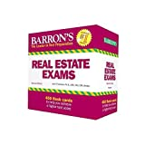 img - for Barron's Real Estate Exam Flash Cards, 2nd Edition by Friedman Ph.D. CRE MAI CPA, Jack P. (August 1, 2015) Cards 2 book / textbook / text book