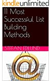 11 Most Successful List Building Methods (English Edition)